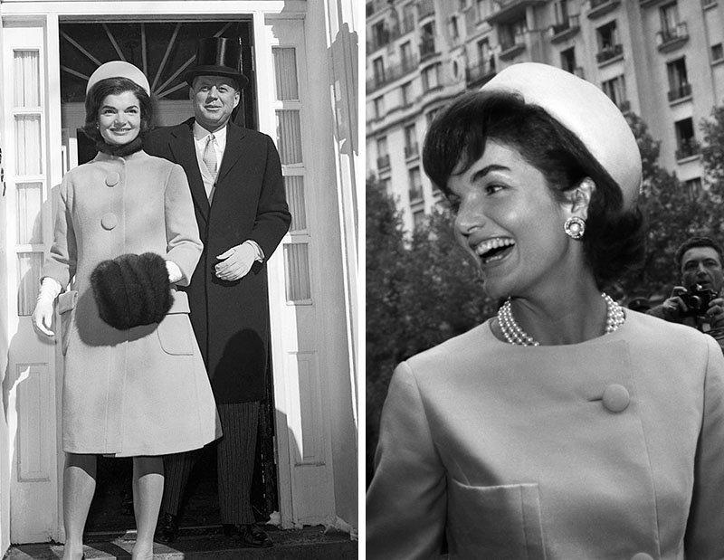 Шляпка-таблетка Джеки Кеннеди
