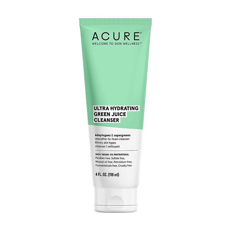 Nettoyant ultra hydratant au jus vert Acure