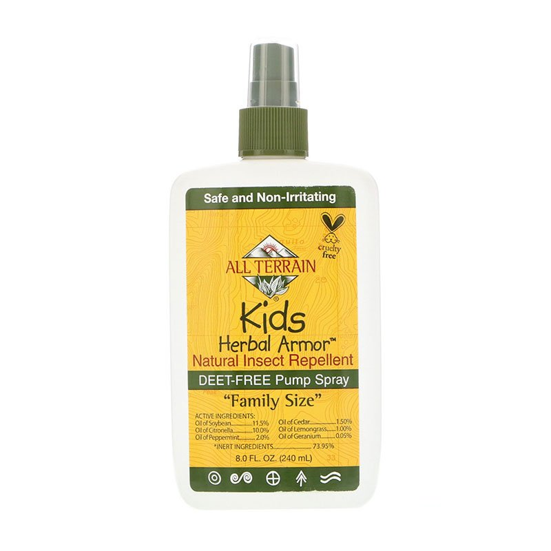 Insectifuge naturel All Terrain Kids Herbal Armor
