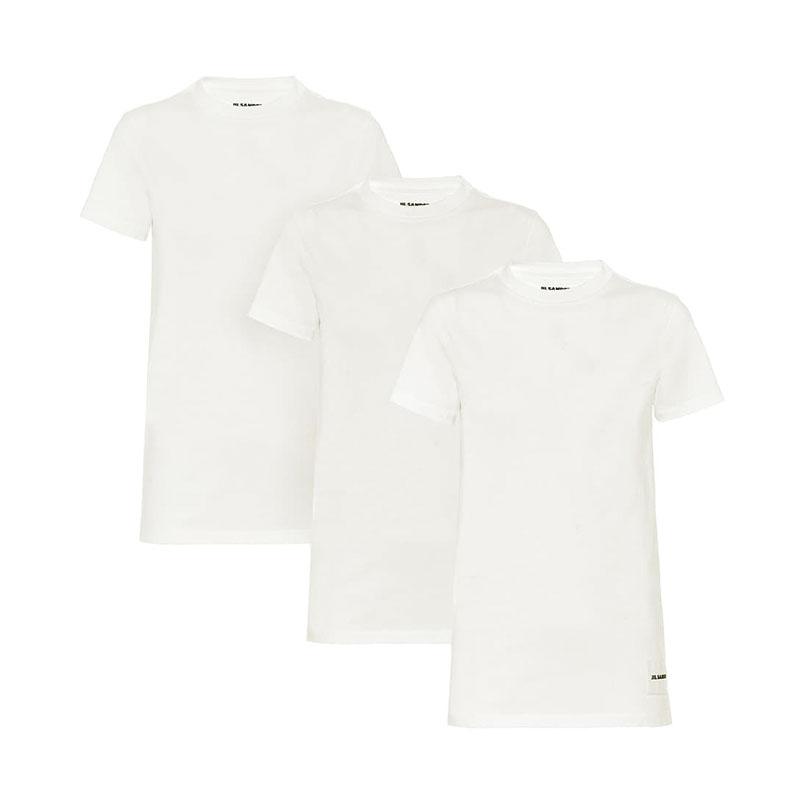 JIL SANDER Set of 3 cotton T-shirts
