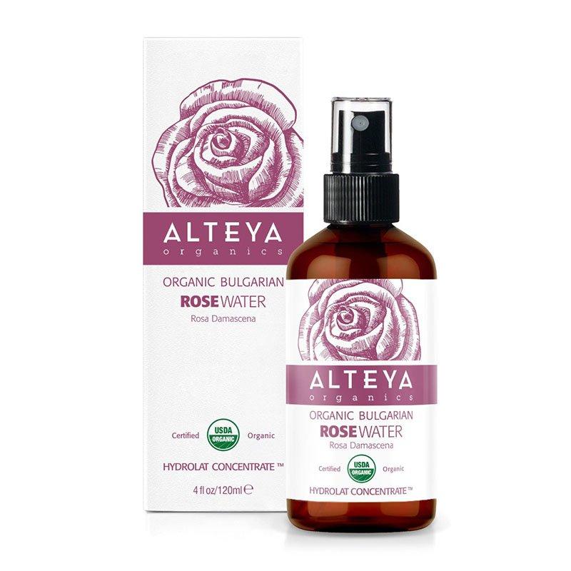 Alteya Certified Organic Bulgarian Centifolia Rose Water