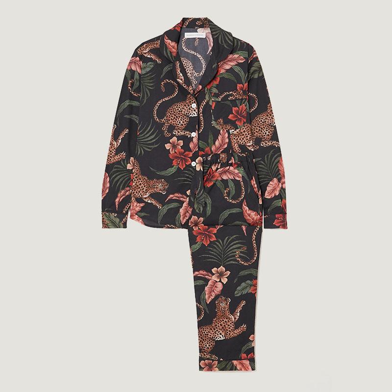 DESMOND & DEMPSEY Ensemble pyjama en coton bio imprimé