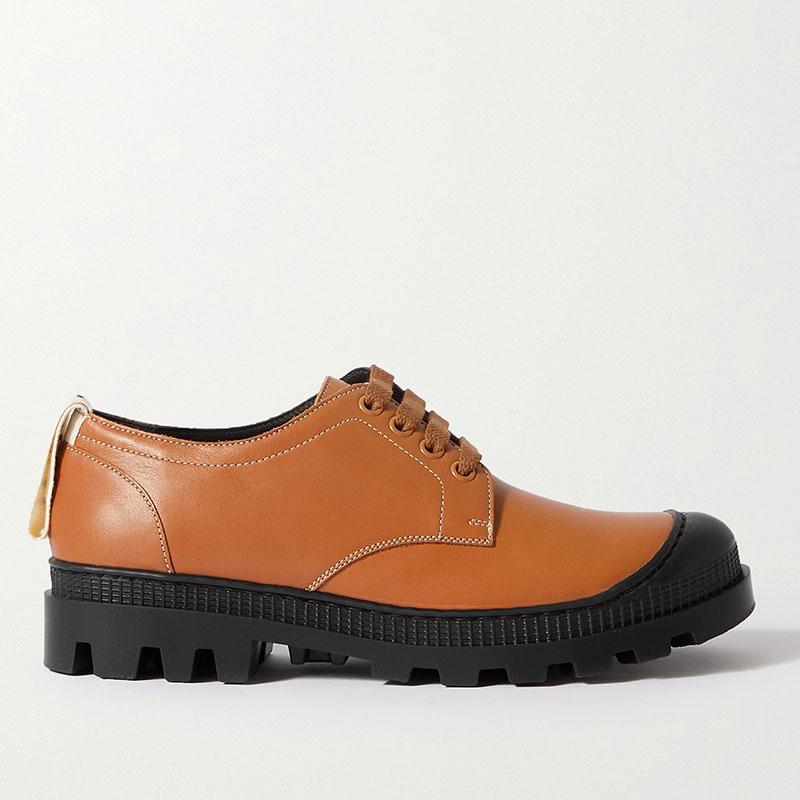 LOEWE Leather brogues