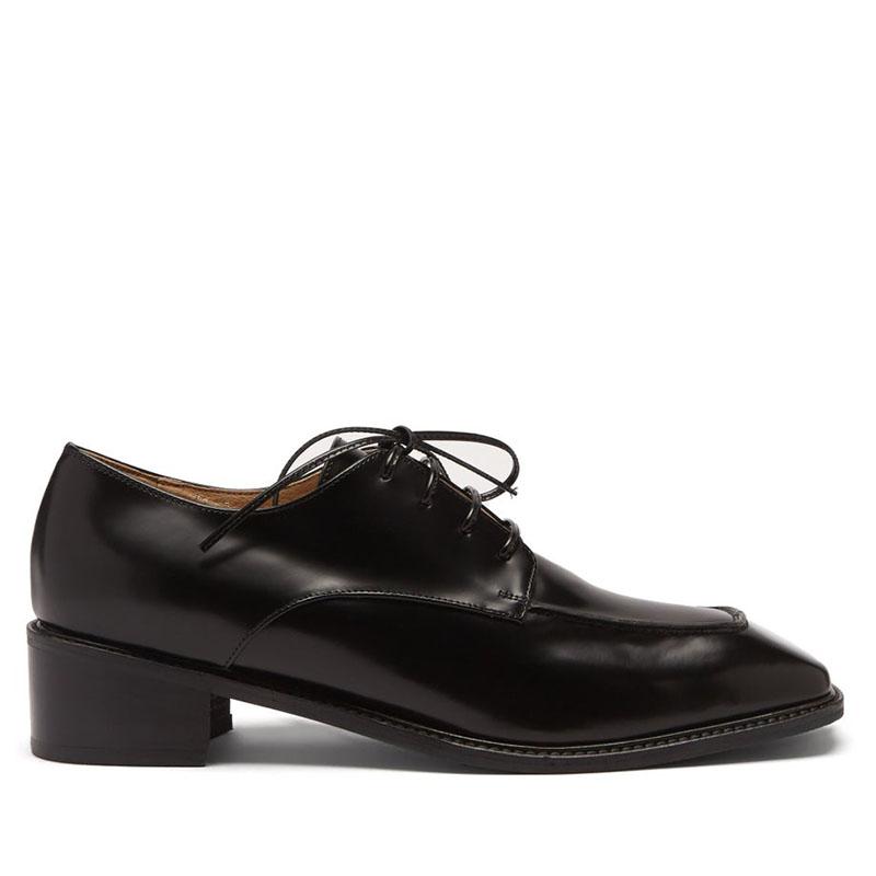 OSOI Derrick square-toe leather Derby shoes