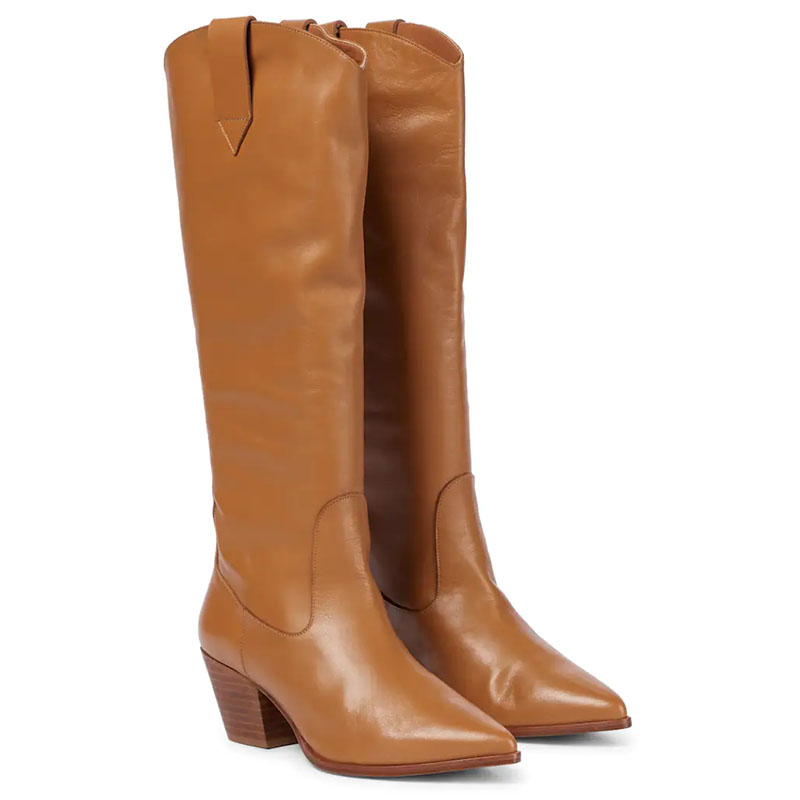 SOULIERS MARTINEZ Guadalajara knee-high leather boots