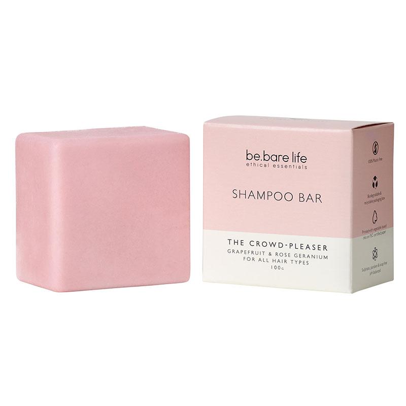 Be.Bare Life The Crowd Pleaser Shampoo Bar