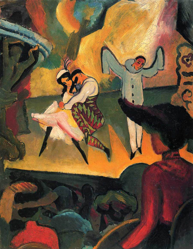 "Август Макке ""Русский балет"" (1912)"